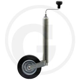 roue jockey pour van en tube 48 mm. Black Bedroom Furniture Sets. Home Design Ideas