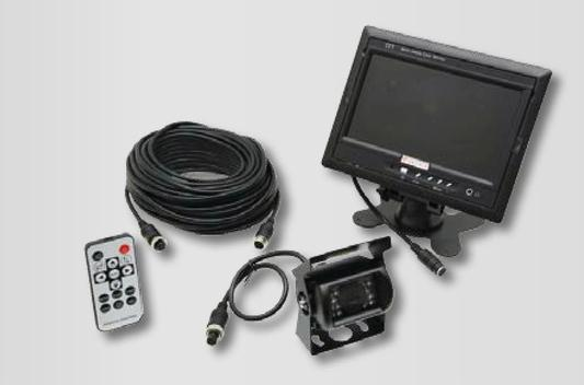 Caméra de surveillance pour van, camion bétaillère et boxe